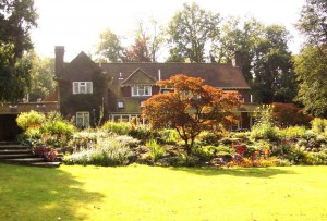 Garden view of house